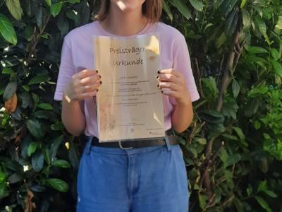 Ingolstädter Literaturtage: Schülerin der FOSBOS Ingolstadt belegt den 1.Platz beim Schreibwettbewerb