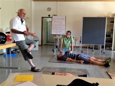 Lehrkräfte der FOSBOS Ingolstadt zu Ersthelfern ausgebildet